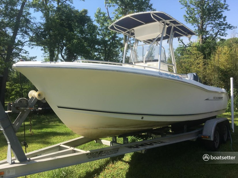 Rent a Sea Hunt Boats center console in Stevensville, MD near me