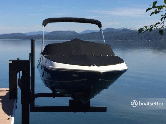 Rent a Bayliner bow rider in Sagle, ID near me