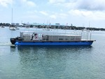 40 ft. Bulldog Pontoons 10x40 Pontoon Boat Rental Miami Image 117