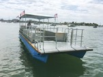 40 ft. Bulldog Pontoons 10x40 Pontoon Boat Rental Miami Image 122
