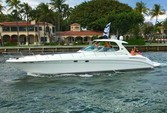 58 ft. Sea Ray Boats 550 Sundancer Cruiser Boat Rental Miami Image 1