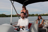 22 ft. Bentley Pontoon 220 Prestige LC  Pontoon Boat Rental Miami Image 3