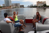 22 ft. Bentley Pontoon 220 Prestige LC  Pontoon Boat Rental Miami Image 4