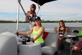 22 ft. Bentley Pontoon 220 Prestige LC  Pontoon Boat Rental Miami Image 2
