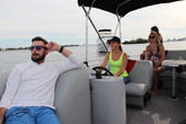 22 ft. Bentley Pontoon 220 Prestige LC  Pontoon Boat Rental Miami Image 9
