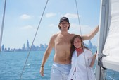 40 ft. Hunter 40 Cruiser Racer Boat Rental Chicago Image 7
