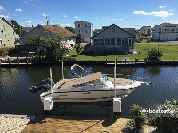 Rent a Wellcraft dual console in Bethany Beach, DE near me