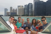 26 ft. Sea Ray Boats 240 Sundeck Ski And Wakeboard Boat Rental Chicago Image 9