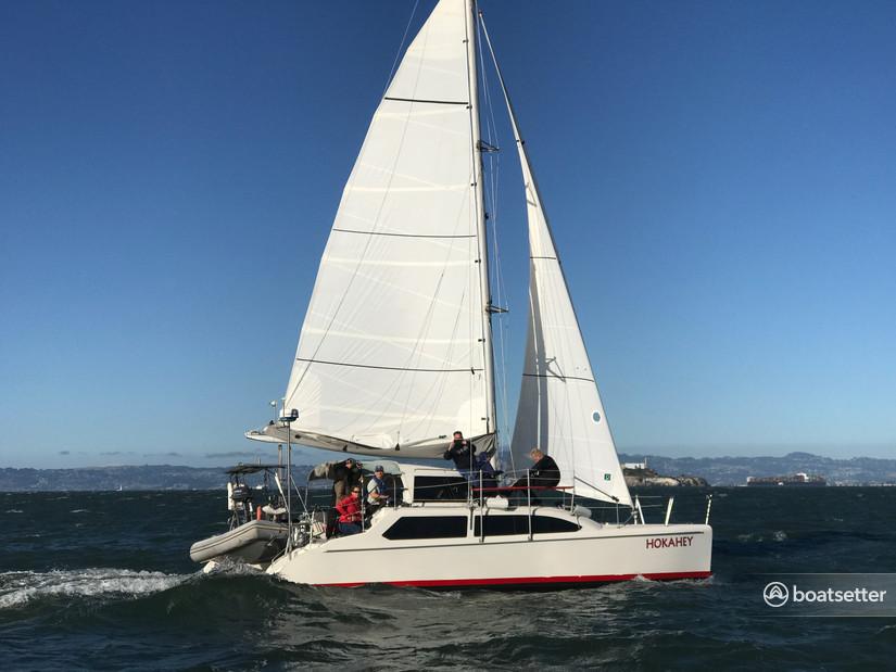 Rent a Seawind catamaran in Richmond, CA near me