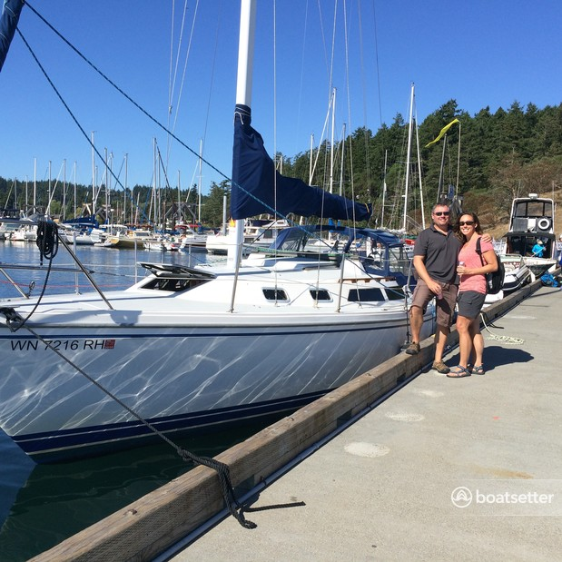 Rent a Catalina sloop in Olympia, WA near me