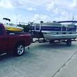 20 ft. Sun Tracker by Tracker Marine Party Barge 18 DLX w/60ELPT 4-S Pontoon Boat Rental Orlando-Lakeland Image 4