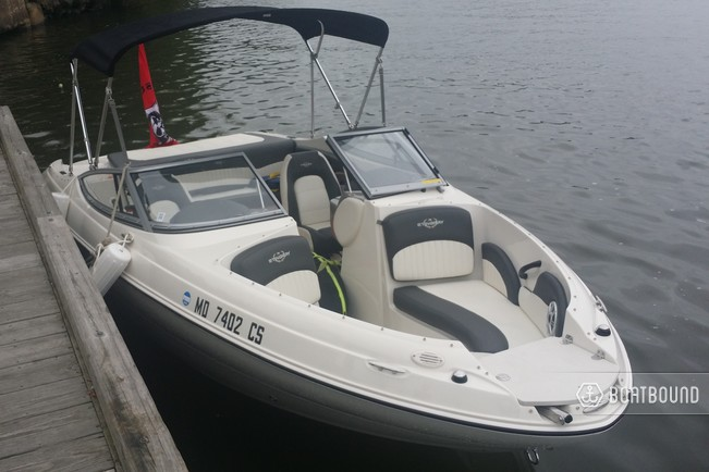 Bow Of A Boat >> Stingray Boats 198lx Open Bow