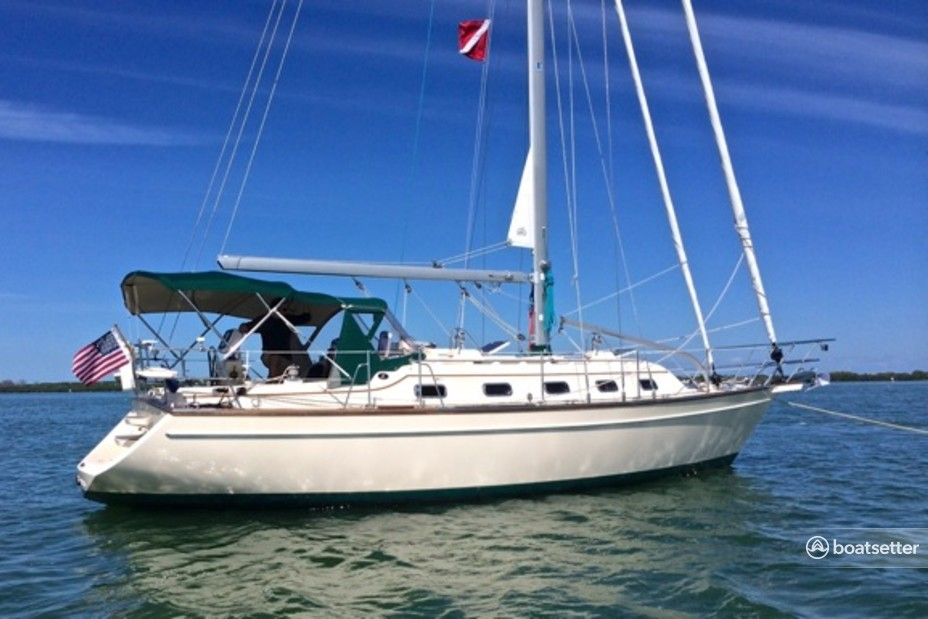 Rent a Island Packet Yachts cruiser in Miami, FL near me