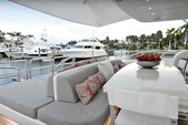 105 ft. Leopard 105 Mega Yacht Boat Rental Miami Image 7