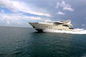 105 ft. Leopard 105 Mega Yacht Boat Rental Miami Image 1