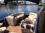 25 ft. South Bay Pontoons 524E TT Tri-Tube Pontoon Boat Rental Miami Image 4