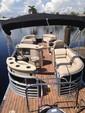 25 ft. South Bay Pontoons 524E TT Tri-Tube Pontoon Boat Rental Miami Image 5