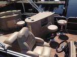 25 ft. South Bay Pontoons 524E TT Tri-Tube Pontoon Boat Rental Miami Image 6
