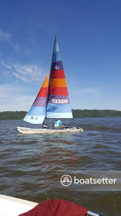 Rent a Hobie Cat Boats catamaran in Red Wing, MN near me