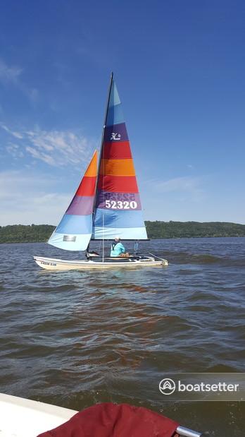 Rent a Hobie Cat Boats catamaran in Red Wing, MN near me
