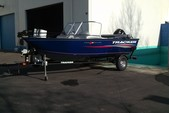16 ft. Tracker by Tracker Marine Pro Guide V-16 WT w/60ELPT 4-S  Aluminum Fishing Boat Rental Sacramento Image 1