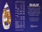 43 ft. Hunter Hunter 420 Sloop Boat Rental Daytona Beach  Image 1