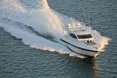 72 ft. Mangusta Maxi Open Motor Yacht Boat Rental Miami Image 8