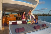 72 ft. Mangusta Maxi Open Motor Yacht Boat Rental Miami Image 11