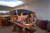 72 ft. Mangusta Maxi Open Motor Yacht Boat Rental Miami Image 15