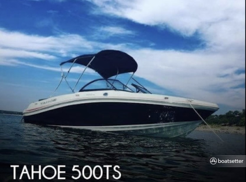 Rent a Tahoe by Tracker Marine runabout in Vacaville, CA near me