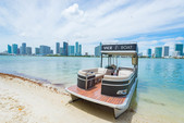 27 ft. Avalon Pontoons 27' Paradise Funship Pontoon Boat Rental Miami Image 1