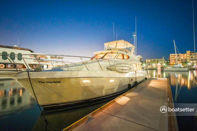 Rent a Mckinna motor yacht in Marina del Rey, CA near me