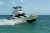 34 ft. Bertram Flybridge Cruiser Offshore Sport Fishing Boat Rental Cancún Image 13