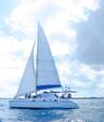 48 ft. Catamaran Cruisers Aqua Cruiser Catamaran Boat Rental Cancún Image 5
