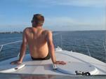 34 ft. Chris Craft Motor Yacht Cruiser Boat Rental Playa del Carmen Image 3