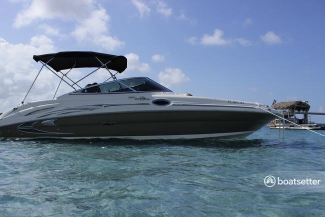 Rent a Sea Ray deck boat in Riviera Beach, FL near me