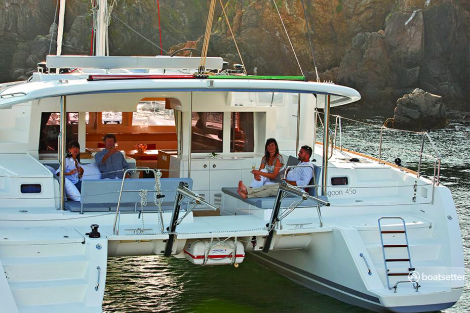 Rent a Lagoon catamaran in Pescara, Abruzzo near me