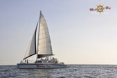 65 ft. Catamaran Cruisers Aqua Cruiser Catamaran Boat Rental Playa Flamingo Image 1