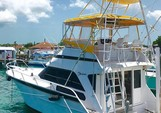 58 ft. Striker Sport Fisherman Offshore Sport Fishing Boat Rental Nassau Image 4