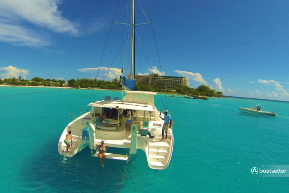 Rent a Luxury Catamaran catamaran in Holetown, Saint James near me