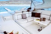50 ft. Alfamarine Open High Speed 50 Motor Yacht Boat Rental Mikonos Image 5