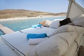 50 ft. Alfamarine Open High Speed 50 Motor Yacht Boat Rental Mikonos Image 6