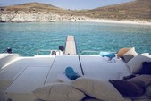 50 ft. Alfamarine Open High Speed 50 Motor Yacht Boat Rental Mikonos Image 7