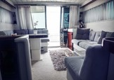 44 ft. Ferretti 500 Motor Yacht Boat Rental Mikonos Image 12