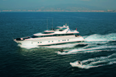 100 ft. Falcon 1999 Motor Yacht Boat Rental Mikonos Image 1