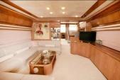 76 ft. Ferretti 550 Flybridge Motor Yacht Boat Rental Mikonos Image 3
