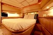 76 ft. Ferretti 550 Flybridge Motor Yacht Boat Rental Mikonos Image 5