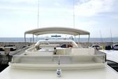 76 ft. Ferretti 550 Flybridge Motor Yacht Boat Rental Mikonos Image 10
