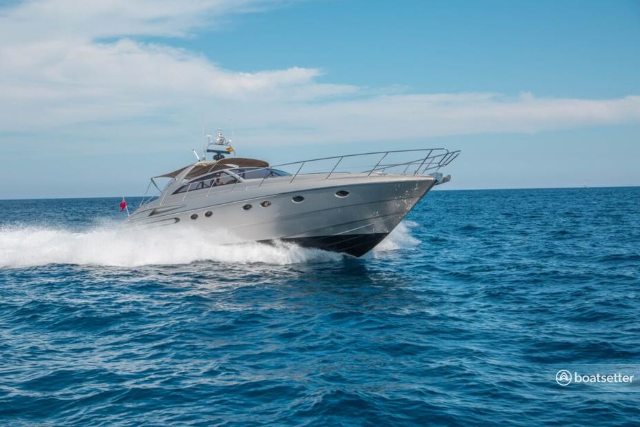 Rent a Princess motor yacht in Eivissa, PM near me