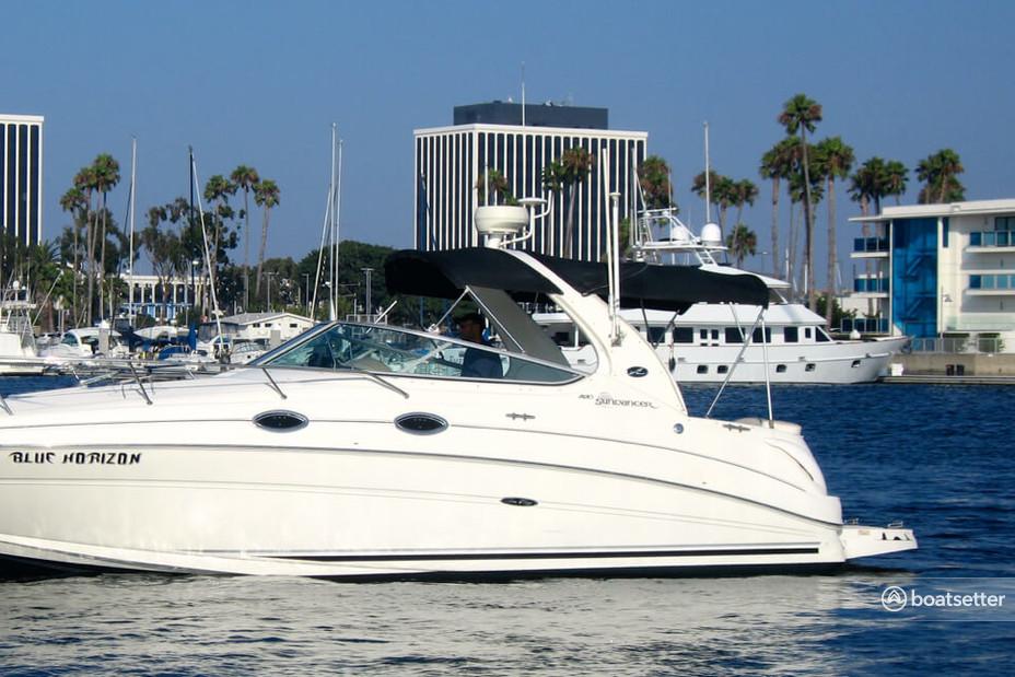 Rent a Sea Ray cruiser in Marina del Rey, CA near me